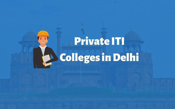 private iti colleges in Delhi list