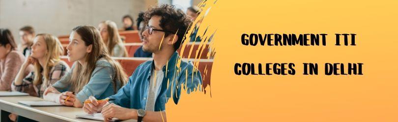 governtment iti colleges in delhi