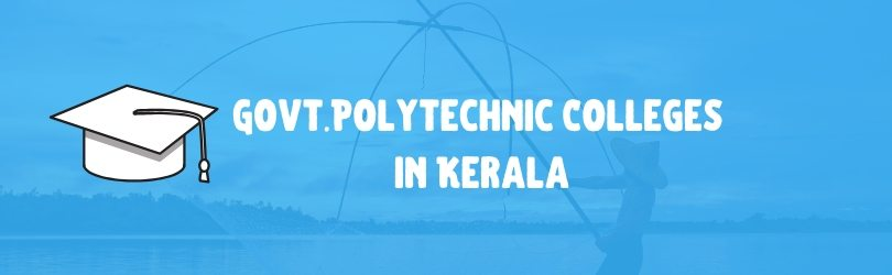 govt polytecnic colleges in kerala